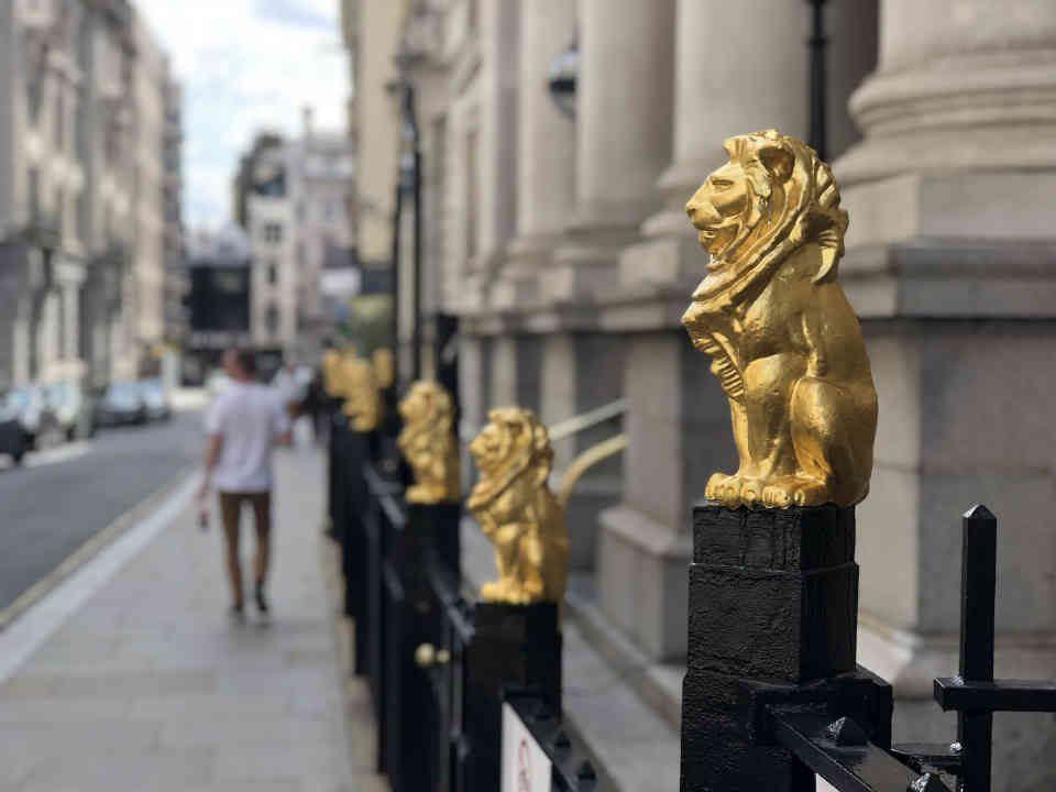 London Gerichtsgebäude
