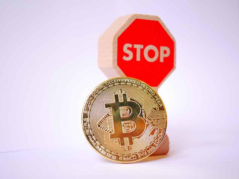 Bitcoin-Verbot