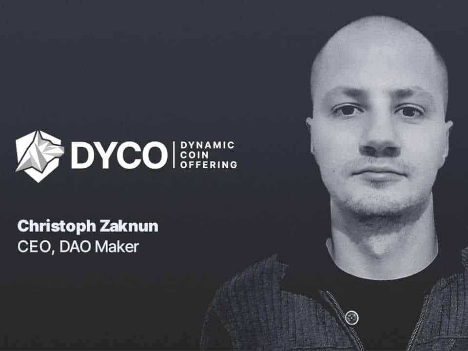 DYCO DAOMaker Christoph Zaknun