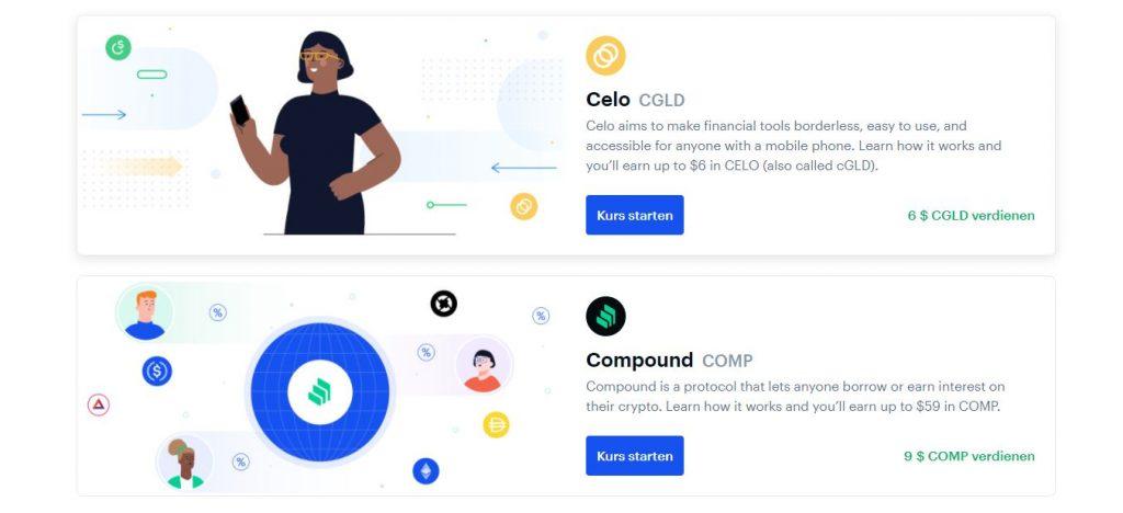 So verdienen Sie Interesse auf Crypto in Coinbase