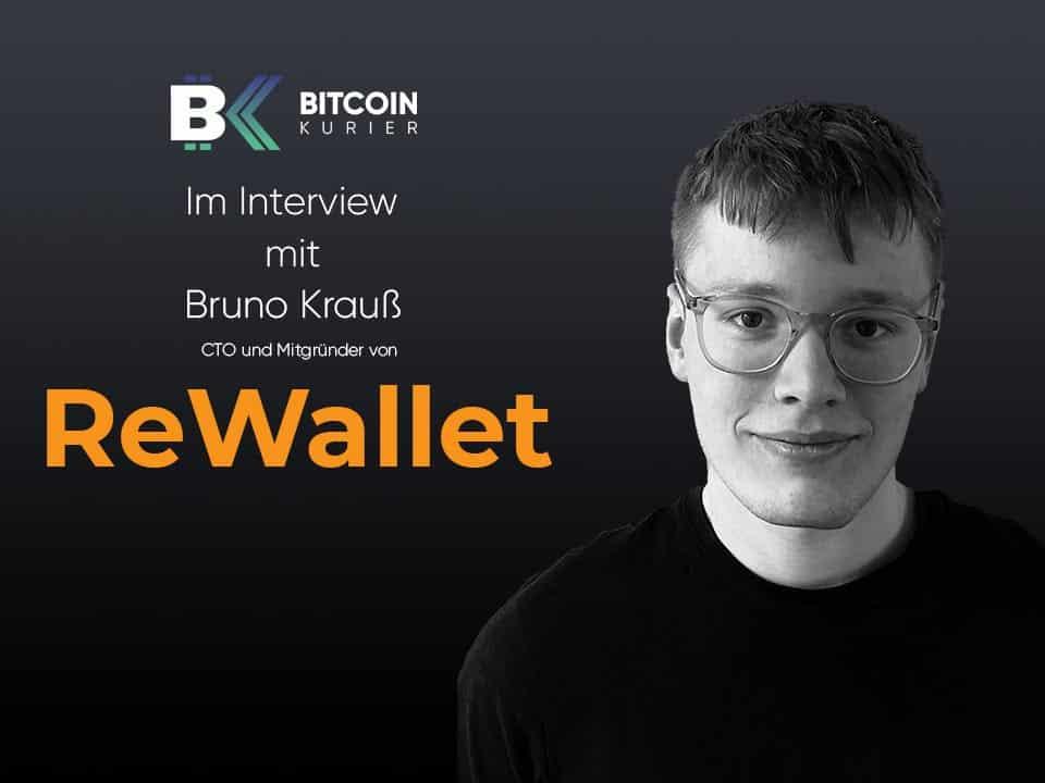 ReWallet Interview Bruno Krauß